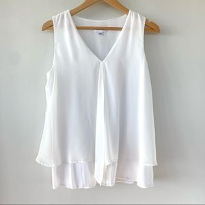 Calvin Klein sleeveless top with v-neckline